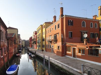 Photo for Nati's House; flat in Venice, in the lively district of Cannaregio facing a canal