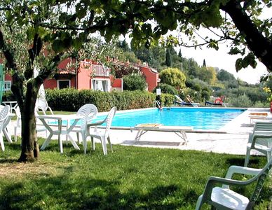 Photo for Apartment Quarole With Pool