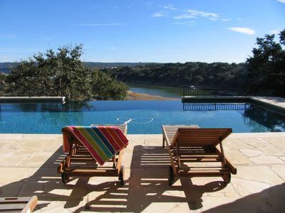 Photo for Luxury Waterfront estate with boatdock, pool , game room  & cinema .