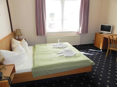Photo for Double Room 26 - Domkes Hotel Garni Haus an der See