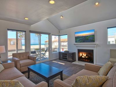 Photo for Rare single family home located just one house off the beach!