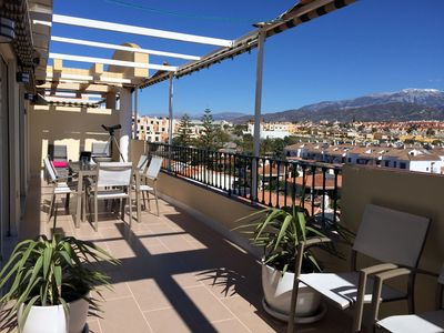 Photo for Apartment in the center of Torre del Mar with great views from large terrace