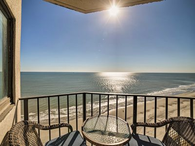 Photo for Oceanfront Myrtle Beach Studio w/ Pool Access!