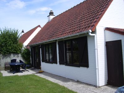 Photo for Small holiday home on the Belgian North Sea coast