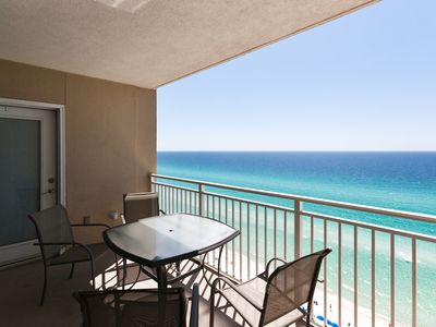 Photo for Amazing views from this 2 bed2 bath on the 17th floor of Emerald Beach Resort