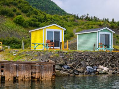 Photo for Cute & Quaint Oceanfront Camping Pods In Gros Morne National Park