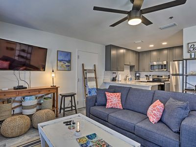 Photo for Renovated Resort Condo Across from Crystal Beach!