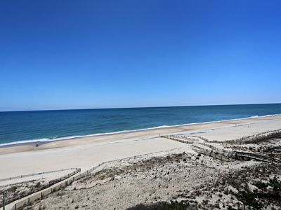 Photo for I708: Updated  Sea Colony Oceanfront Point condo | Comp. Linens! Beach, pools ..
