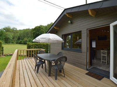 Photo for Magnificent Chalet in Ferrières Ardenne with Private Terrace