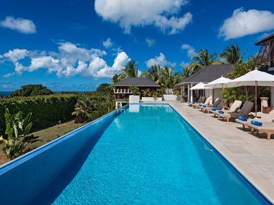 Photo for Balinese Villa with Ocean Views and Pool - Tom Tom