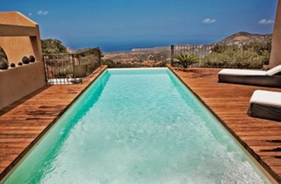 Photo for Villa 13pers quiet, private heated pool, panoramic sea view
