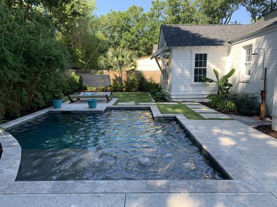 Photo for Shem Creek Bungalow with POOL and golfcart!!