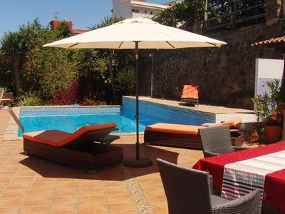 Photo for Historic Finca with sea and Teide views, private pool + barbecue, a gem