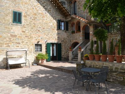 Photo for Castiglion Fiorentino apartment 3 people with use of the swimming pool
