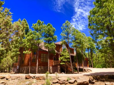 Photo for Beautiful Mountain Retreat Just Steps From Rainbow Lake