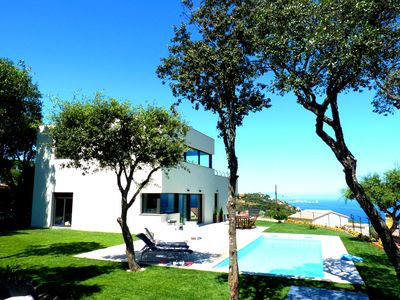 Photo for Luxury Modern House with Salted Private Pool and Seaviews. Free Wifi and A/C