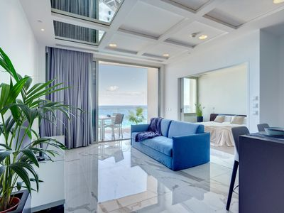 Photo for Stunning Apt Sea Views in Tigne Point, with Pool