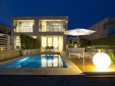 Photo for Modern Villa Oleander, in Dalmatia, with a Pool