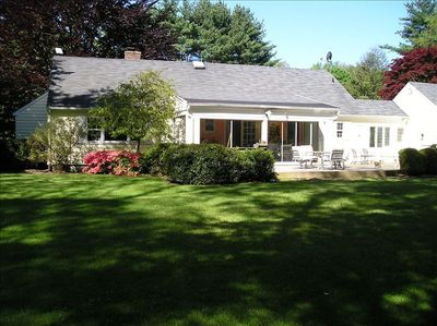 Vacation Home in Westport near Beaches, Walk to Town Tennis Court and Baseball