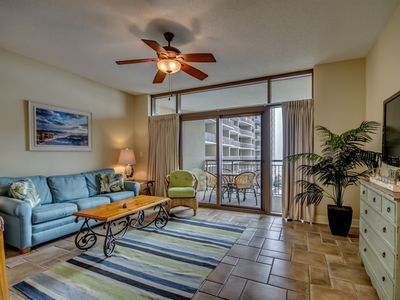 Photo for Perfect Couple's Getaway! King Size Bed, 5th Floor Ocean Views