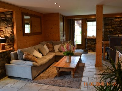 Photo for The Tavaillons 3 4étoiles apartment in a magnificent alpine chalet