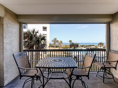 Photo for AMELIA ISLAND GEM! OCEANFRONT CONDO- LIVE AND FEEL THE BEACH!