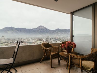 Photo for Spectacular Mountainview 1 Bedroom Apt in Las Condes near Parque Arauco