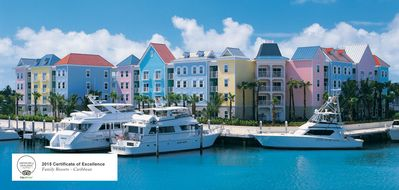 Photo for One bedroom apartment with Kichenette in Bahamas Harborside resort at Atlantis
