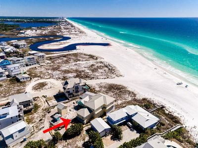 Photo for Semper Fi: Spectacular, Newly Renovated Beach Front Home - Panoramic Gulf Views!
