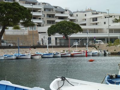 Photo for T3 classified 4 * 70 m ² + loggia 24 m ² - In front of capuchin beach View green island and port