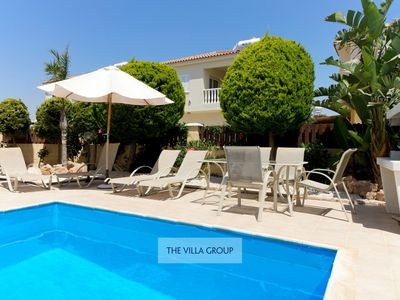 Photo for Ayia Thekla Villa, Sleeps 4 with Pool and Air Con