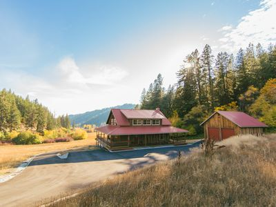 Photo for Custom Home With Beautiful Valley Views - 5 Acres - Private Hot Tub