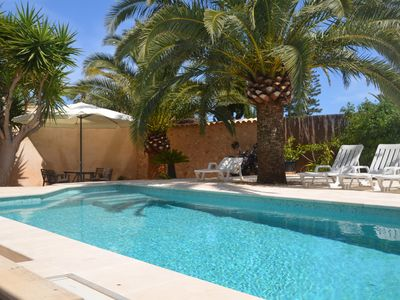Photo for RECREATION PUR: Luxury family village villa, secluded, pool + separate casita