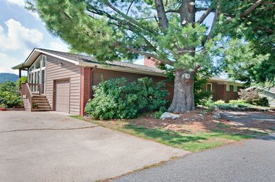Easy access to house from side or front porch of the house.