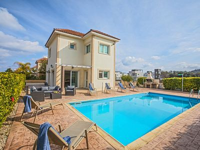 Photo for Villa Jamie, Lovely 3BDR Protaras Villa with private pool, Close to Fig Tree Bay