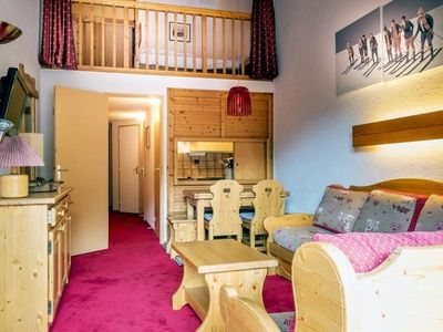 Photo for Apartment Val-d'Isère, studio flat, 5 persons