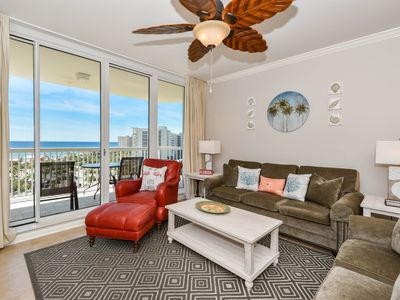 Photo for Spacious West Indies inspired condo w/private balcony! 🌴
