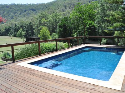 Photo for Completely Private Valley, surrounded by Nat Park, House, Cottage and Pool