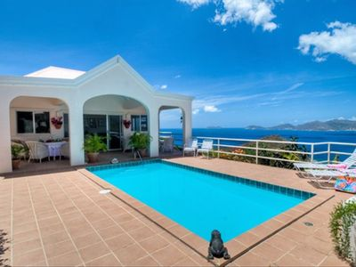 Photo for Secluded Caribbean Villa with Spectacular Views