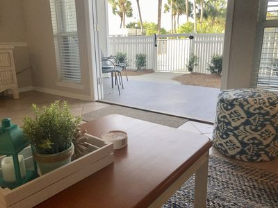 Photo for 30A 1st Floor Condo At Gulf Place Caribbean - only Steps to Beach!