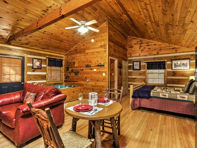 Photo for Cozy Pigeon Forge Cabin w/ Private Hot Tub!