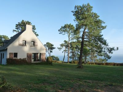 Photo for Villa in Cape goat overlooking the ocean, exceptional sea view.