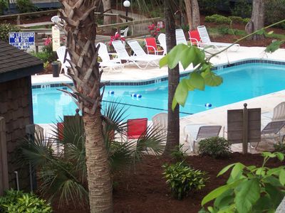 Photo for Relax and enjoy the beach. Indoor/outdoor pool. Short walk to beach.. Free WiFi
