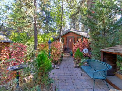 Photo for NEW LISTING! Charming cabin with wood fireplace- close to ski resorts