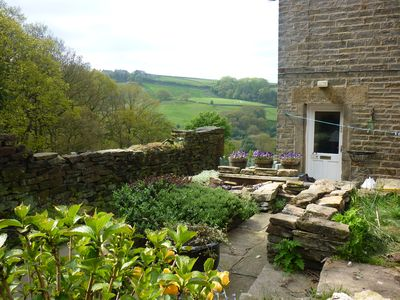 Photo for Secluded Cottage Sleeps 2 rural with enclosed sunny garden.