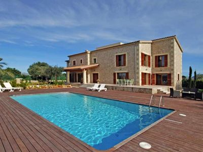 Photo for Luxurious country house with pool near the town of Alcudia and the beach