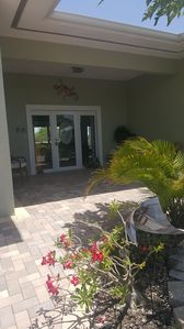 Photo for Ground level home in Cudjoe Gardens with heated pool, boat dock & RV parking