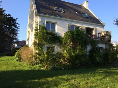Photo for House La Forêt-Fouesnant, sleeps 10, near the village and the sea