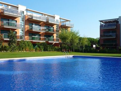 Photo for Ground floor apartment with small private garden. Situated in front of the golf club of Pals