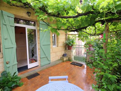 Photo for Charming house in medieval village near river Dordogne , from 345€ to 720E/ week